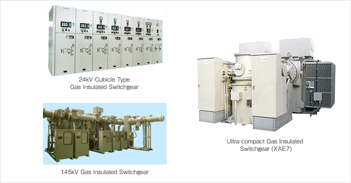 Gas Insulated Switchgear | Products&Services | NISSIN