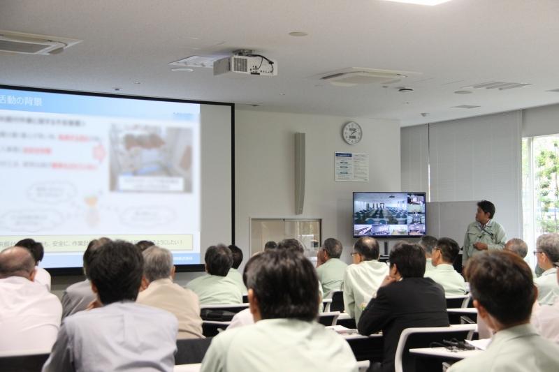 小集団kaizen活動世界大会 発表の様子
